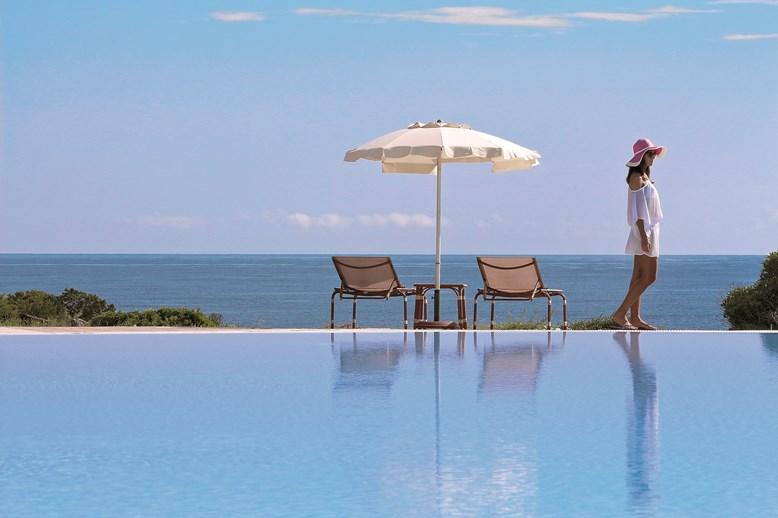 Bazén, Porto Cervo, Costa Smeralda, Sardinie
