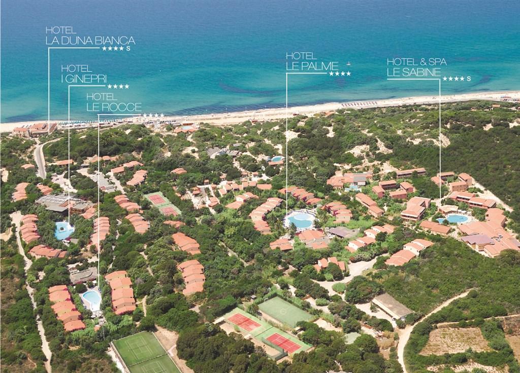 RESORT & SPA LE DUNE - Hotel La Duna Bianca -