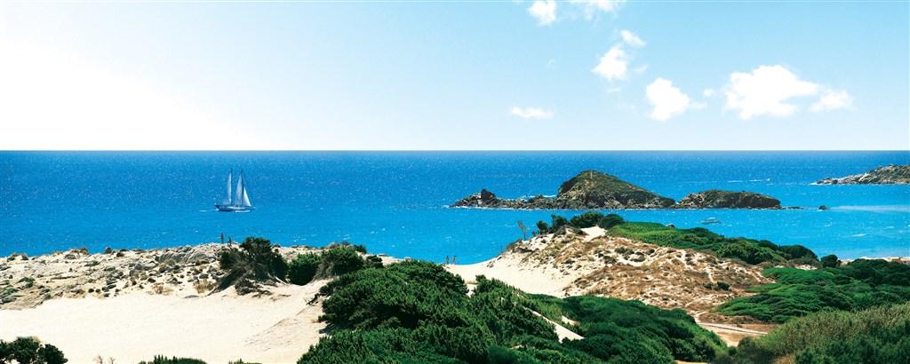 Písečné duny Chia, Sardinie