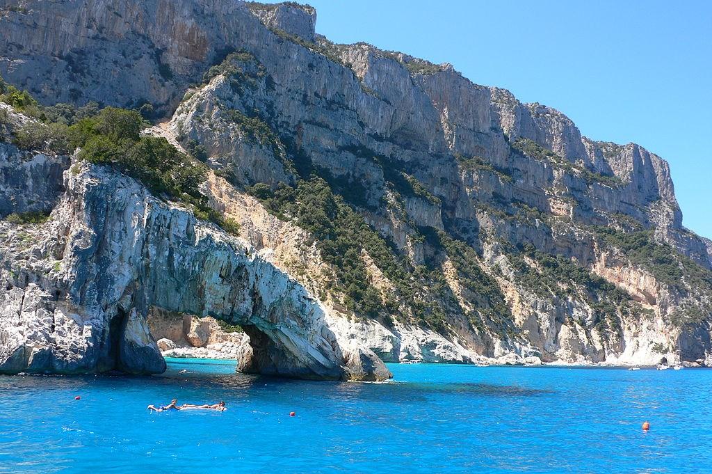 Všechny barvy Sardinie -