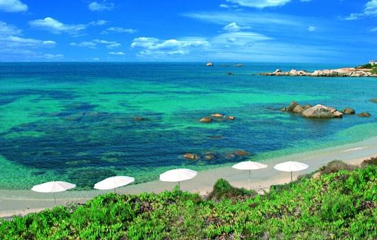 CALA CATERINA - Sardinie jih