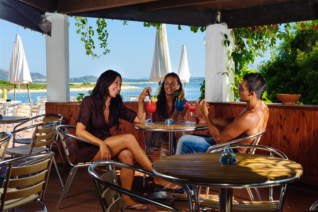 Bungalow Club Village - Bar, San Teodoro, Sardinie