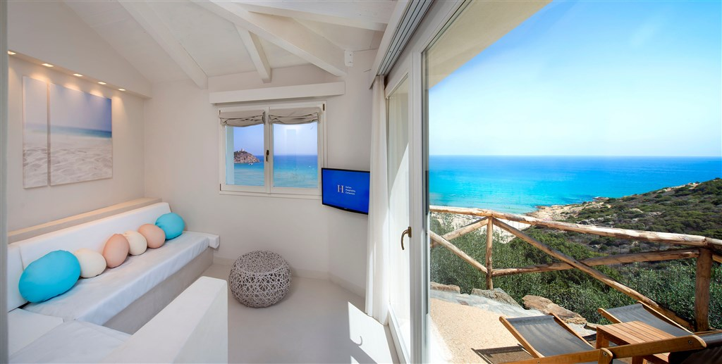Junior Suite, Chia, Sardinie