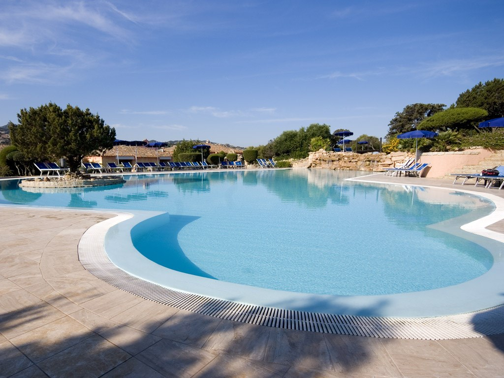 Colonna Country & Sporting Club - Bazén, Porto Cervo, Costa Smeralda, Sardinie