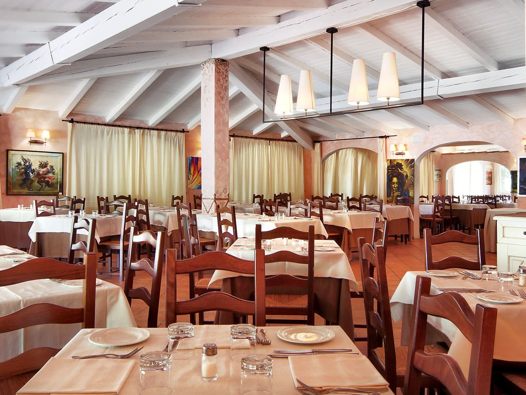 Colonna Country & Sporting Club - Restaurace, Porto Cervo, Costa Smeralda, Sardinie