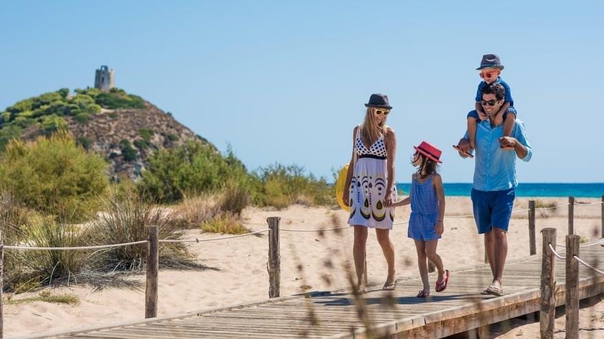 Pláž, Chia, Sardinie