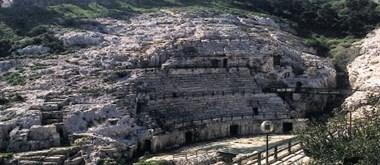 Římský amfiteátr v Cagliari