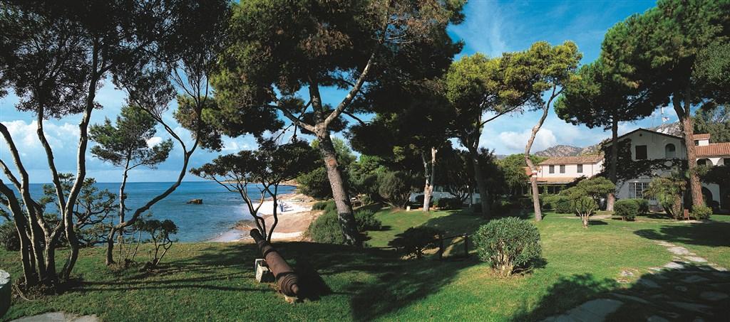 Zahrada s mořem - IS MORUS RELAIS