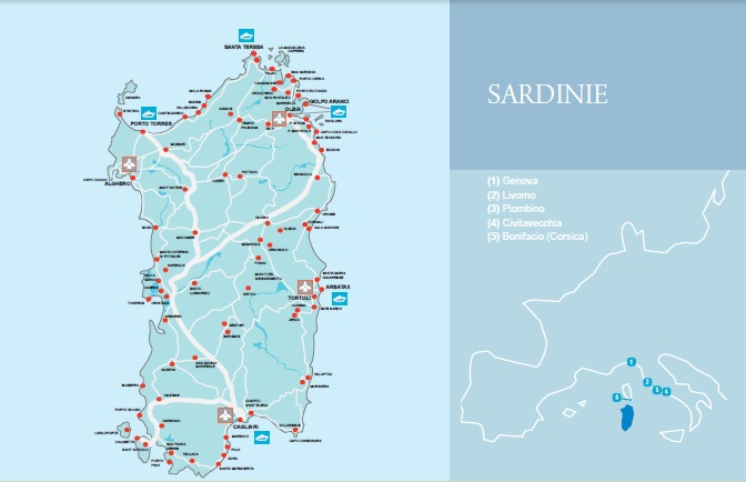 Trajekt sardinie