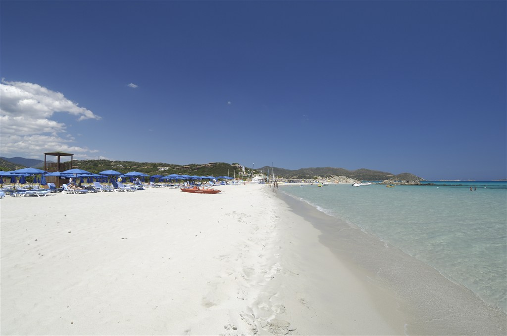 Hotelová pláž - PULLMAN TIMI AMA SARDEGNA