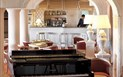 Grand Hotel Smeraldo Beach - Piano bar, Baja Sardinia, Sardinie