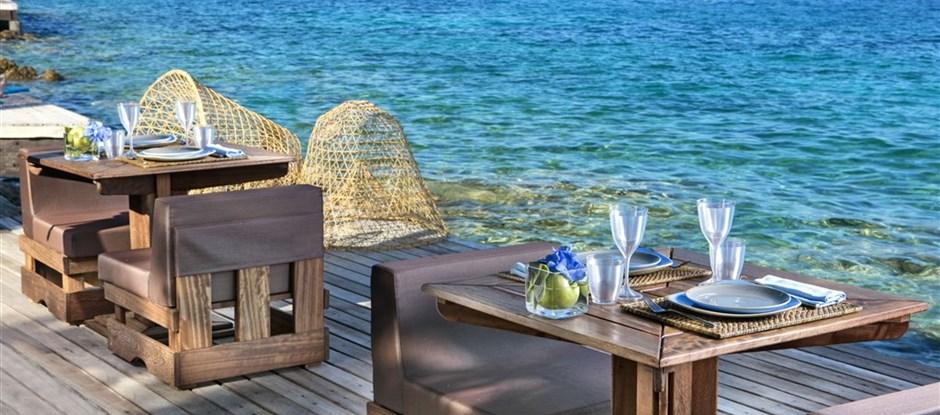 Obědová terasa, Palau, Sardinie